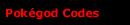 Real Pokégod Codes!